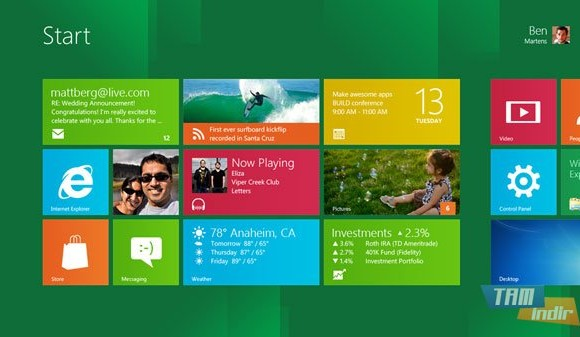 Windows 8 Developer Preview Ekran Görüntüleri - 5