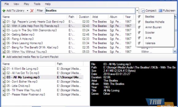 SE-MediaPlayer Ekran Görüntüleri - 1
