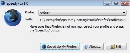 SpeedyFox Ekran Görüntüleri - 1