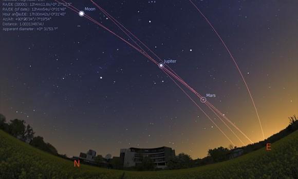 Stellarium Ekran Görüntüleri - 3