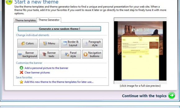 TOWeb Ekran Görüntüleri - 1