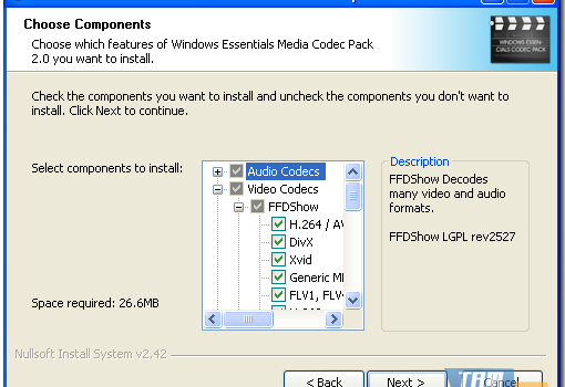 Windows Essentials Codec Pack Ekran Görüntüleri - 2