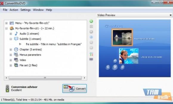 ConvertXtoDVD Ekran Görüntüleri - 2