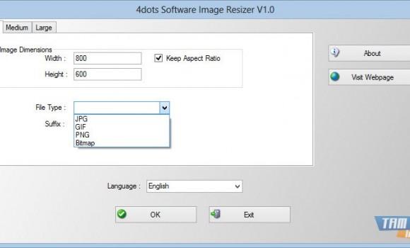 4dots Software Image Resizer Ekran Görüntüleri - 3
