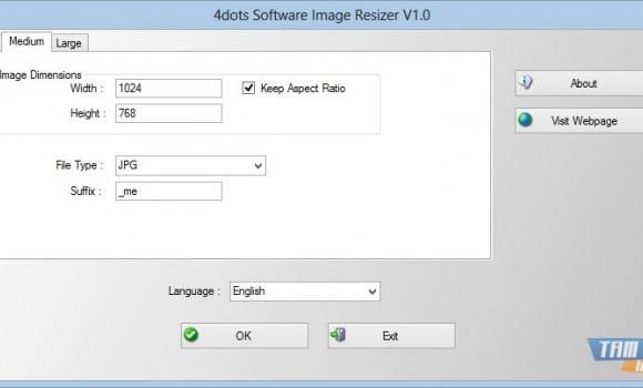 4dots Software Image Resizer Ekran Görüntüleri - 2
