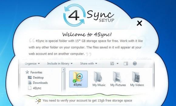 4Sync Ekran Görüntüleri - 2