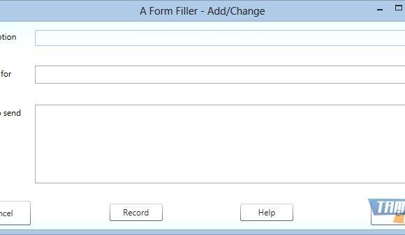A Form Filler Ekran Görüntüleri - 2