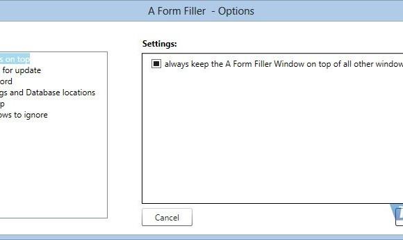 A Form Filler Ekran Görüntüleri - 1