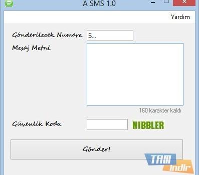 A SMS Ekran Görüntüleri - 1