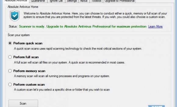 Absolute Antivirus Ekran Görüntüleri - 5