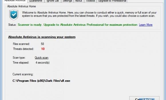 Absolute Antivirus Ekran Görüntüleri - 4