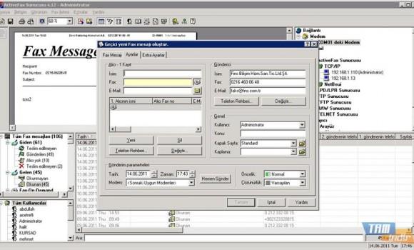 Actfax Server Ekran Görüntüleri - 3