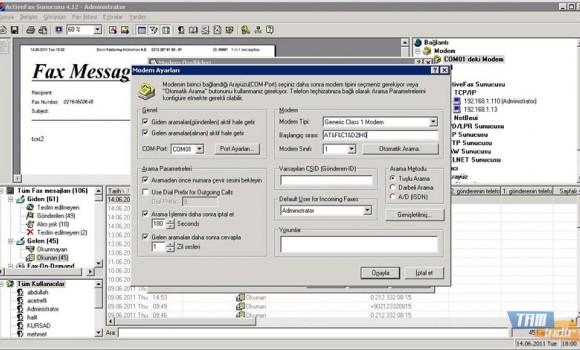 Actfax Server Ekran Görüntüleri - 1
