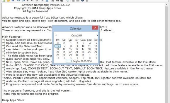 Advance Notepad Ekran Görüntüleri - 2