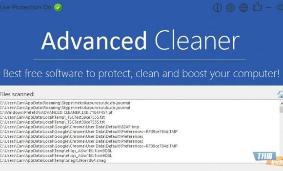 Advanced Cleaner Ekran Görüntüleri - 3