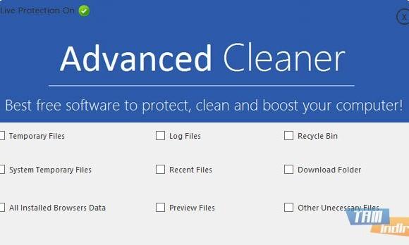 Advanced Cleaner Ekran Görüntüleri - 2