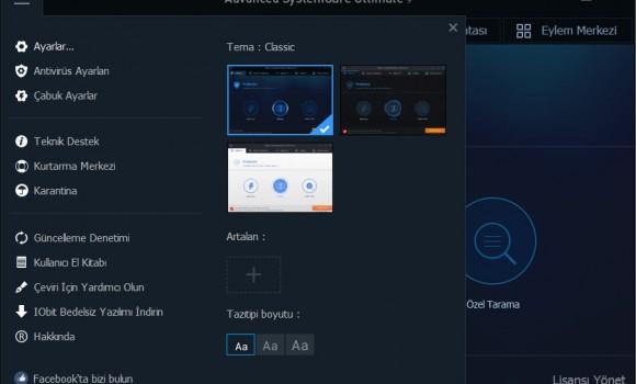 Advanced SystemCare Ultimate Ekran Görüntüleri - 1