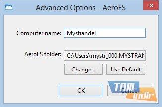 AeroFS Ekran Görüntüleri - 1