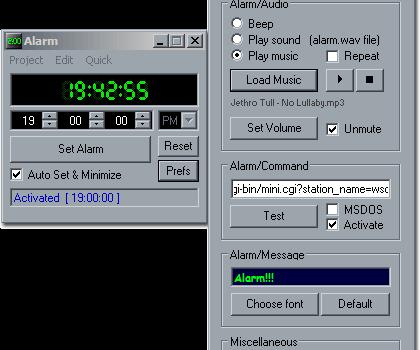 Alarm Ekran Görüntüleri - 1