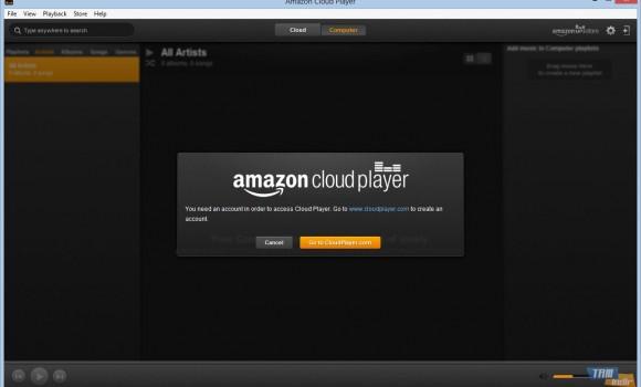 Amazon Cloud Player Ekran Görüntüleri - 2