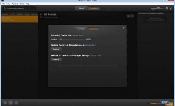 Amazon Cloud Player Ekran Görüntüleri - 4