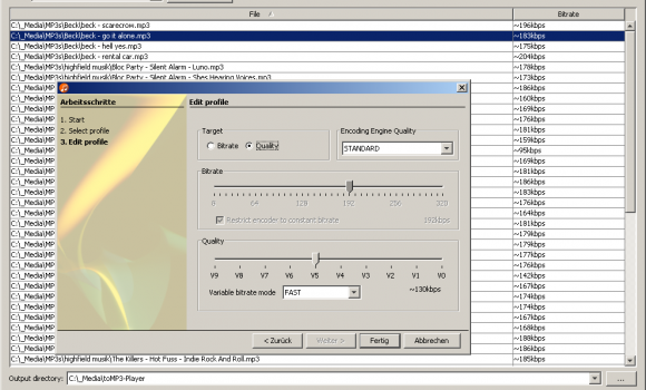 AmoK MP3 ReEncoder Ekran Görüntüleri - 2