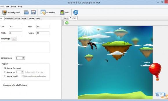 Android Live Wallpaper Maker Ekran Görüntüleri - 2