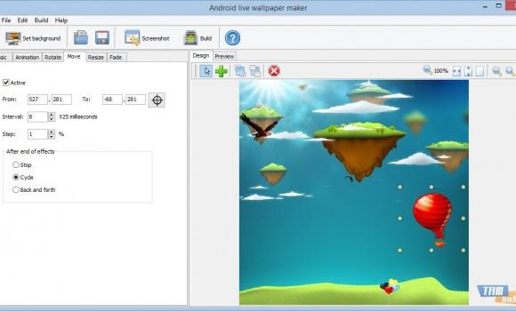 Android Live Wallpaper Maker Ekran Görüntüleri - 1