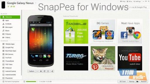 SnapPea Ekran Görüntüleri - 1