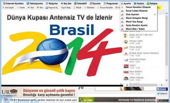 Antensiz TV Ekran Görüntüleri - 2