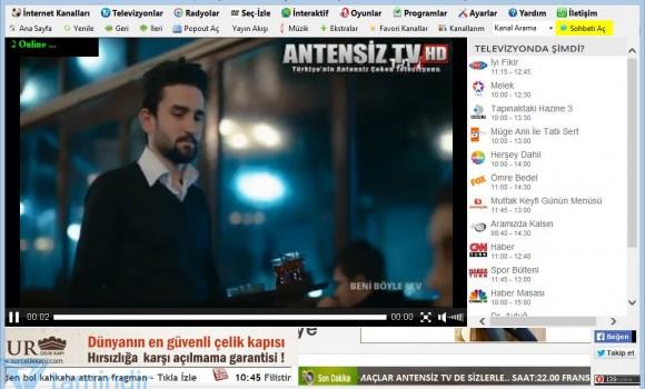 Antensiz TV Ekran Görüntüleri - 1