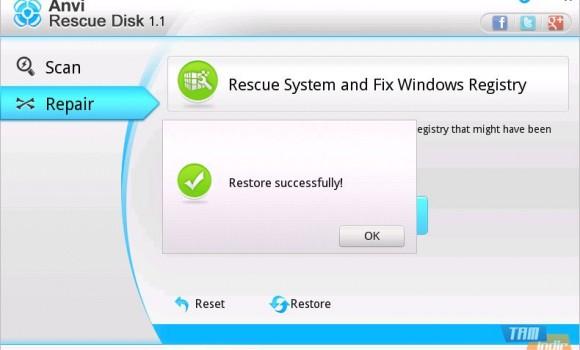 Anvi Rescue Disk Ekran Görüntüleri - 2