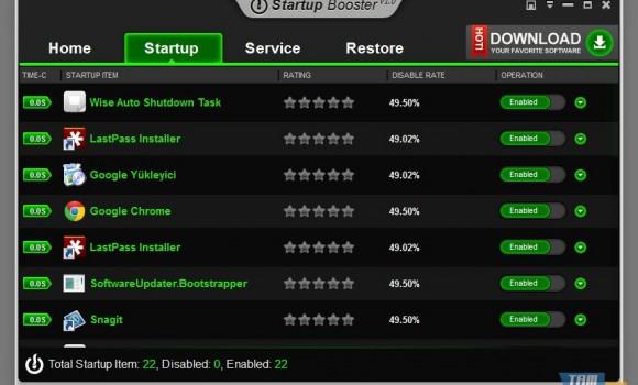 Anvi Startup Booster Ekran Görüntüleri - 2