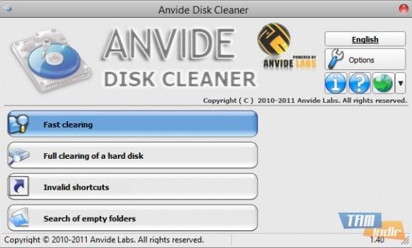 Anvide Disk Cleaner Ekran Görüntüleri - 4