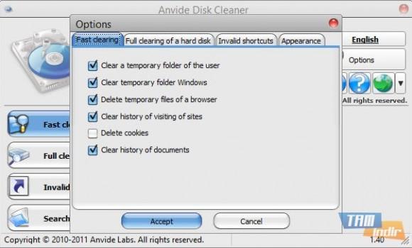 Anvide Disk Cleaner Ekran Görüntüleri - 3