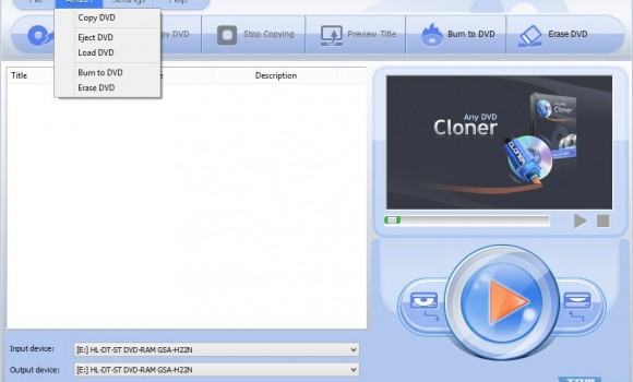 Any DVD Cloner Ekran Görüntüleri - 1