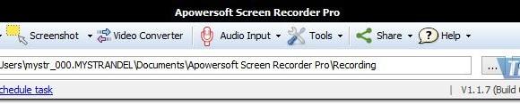 Apowersoft Desktop Screen Recorder Ekran Görüntüleri - 4