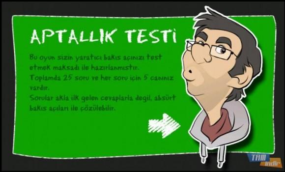 Aptallık Testi Ekran Görüntüleri - 5