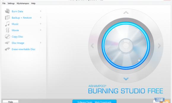 Ashampoo Burning Studio Free Ekran Görüntüleri - 2