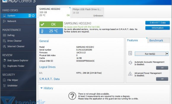 Ashampoo HDD Control Ekran Görüntüleri - 4