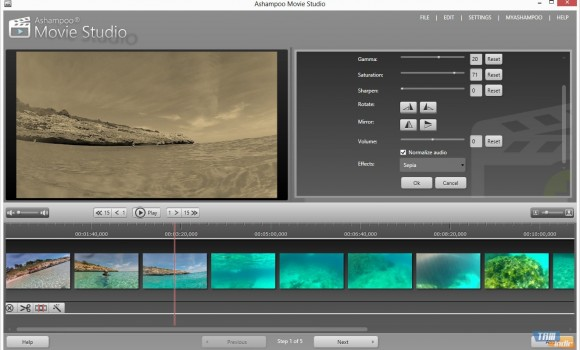 Ashampoo Movie Studio Ekran Görüntüleri - 1