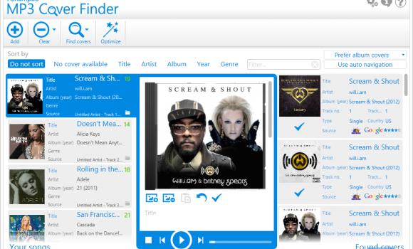 Ashampoo MP3 Cover Finder Ekran Görüntüleri - 6