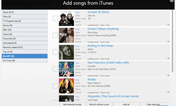 Ashampoo MP3 Cover Finder Ekran Görüntüleri - 3