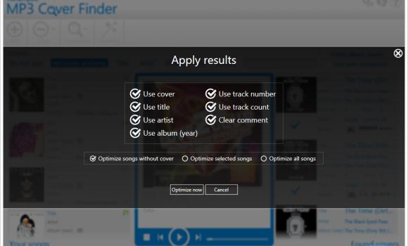 Ashampoo MP3 Cover Finder Ekran Görüntüleri - 1