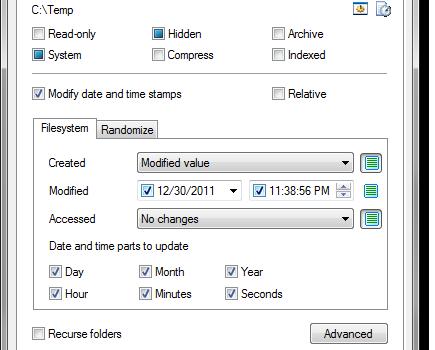 Attribute Changer Ekran Görüntüleri - 2