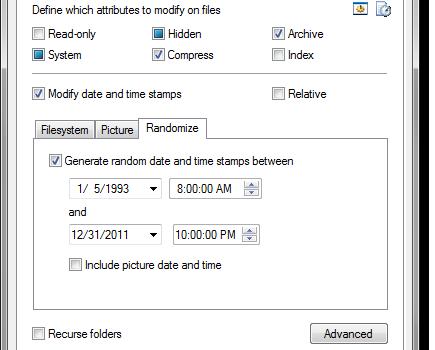 Attribute Changer Ekran Görüntüleri - 3