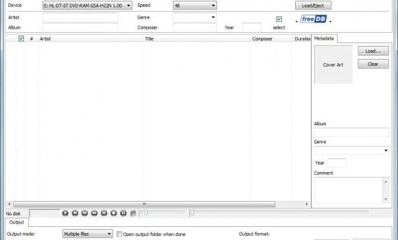 Audio Transcoder Ekran Görüntüleri - 1