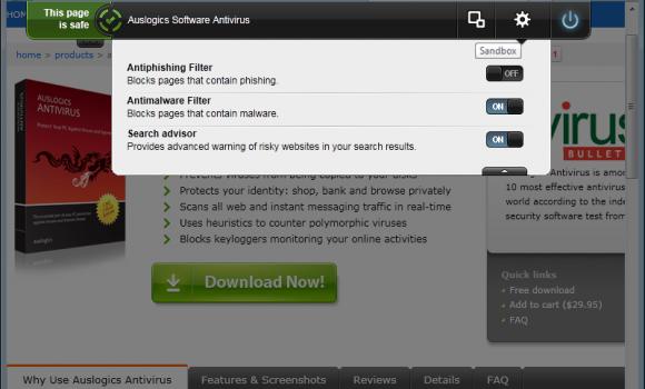 Auslogics Antivirus Ekran Görüntüleri - 2