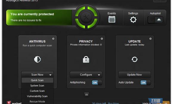 Auslogics Antivirus Ekran Görüntüleri - 1