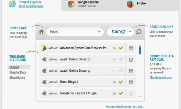 Auslogics Browser Care Ekran Görüntüleri - 3